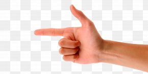 Hand Gun - Finger Gun Digit Gesture PNG