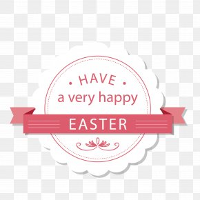 Easter Lace Decoration - Easter Bunny Easter Rising Quotation Saying PNG