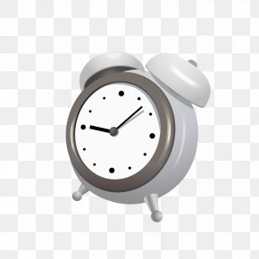 Alarm Pattern Of Black And White - Alarm Clock Black And White PNG