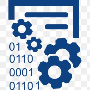 Non Profit - Data Binary Code Symbol PNG