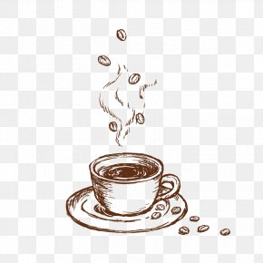 Drink Coffee Beans - Coffee Cup Cafe Jenns Java PNG