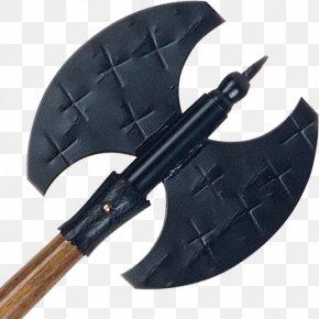 Golden Axe - Battle Axe Labrys Knife Weapon PNG