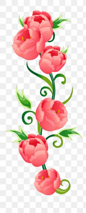 Vertical - Door Phone Floral Design Cut Flowers Birthday Greeting & Note Cards PNG