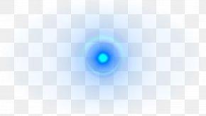 Creative Lens Flare Light Effect - Light Blue Lens Flare Camera Lens PNG