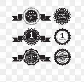Vector Black Logo - Paper Label PNG