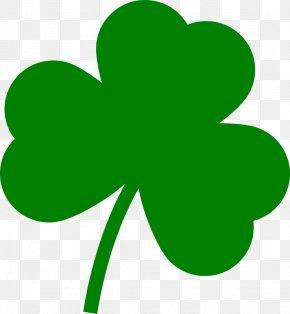 Clover PNG - Saint Patrick's Day Ireland Shamrock Four-leaf Clover PNG