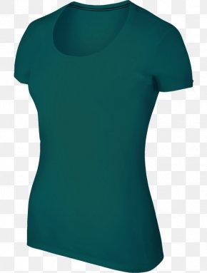 Taobao Blue Copywriter - T-shirt Turquoise Electric Blue Aqua Teal PNG