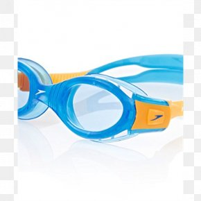 Swimming Goggles - Goggles Speedo Swimming Blue Glasses PNG