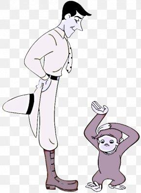Child Line Art - Cartoon Standing Gesture Line Art Clip Art PNG