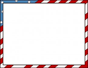 Flag Border Cliparts - Flag Of The United States Clip Art PNG
