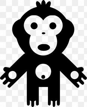 Orangutan - Ape Common Chimpanzee Primate Clip Art PNG
