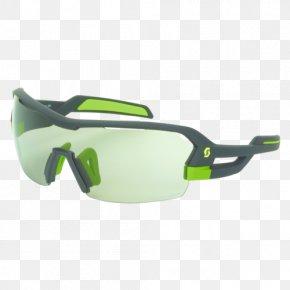 European Wind Green - Goggles Sunglasses Lens Scott Sports PNG