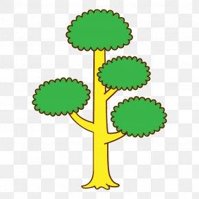 Plant Stem Symbol - Green Clip Art Plant Tree Symbol PNG
