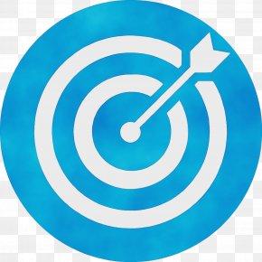 Spiral Electric Blue - Aqua Turquoise Circle Clock Clip Art PNG