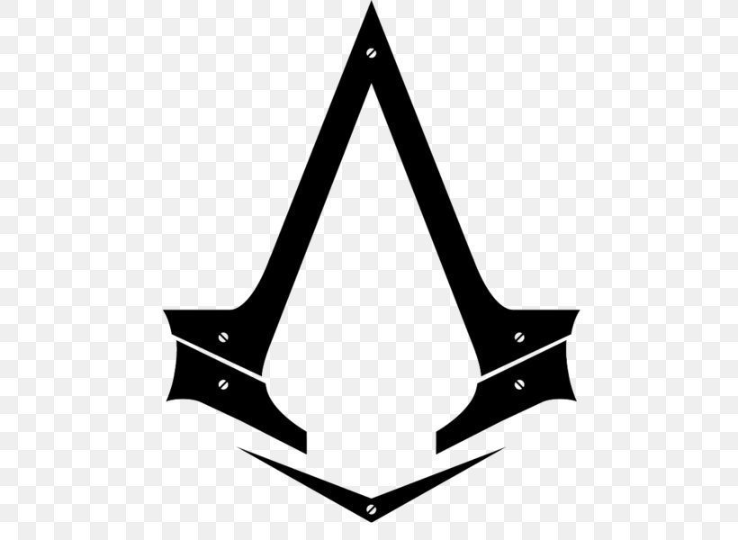 Assassin's Creed Syndicate Assassin's Creed Unity Assassin's Creed: Origins Assassin's Creed III Assassin's Creed IV: Black Flag, PNG, 583x600px, Logo, Assassins, Black, Black And White, Playstation 4 Download Free