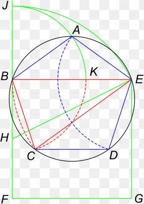 Euclidean - Euclid's Elements Pentagon Regular Polygon Geometry PNG
