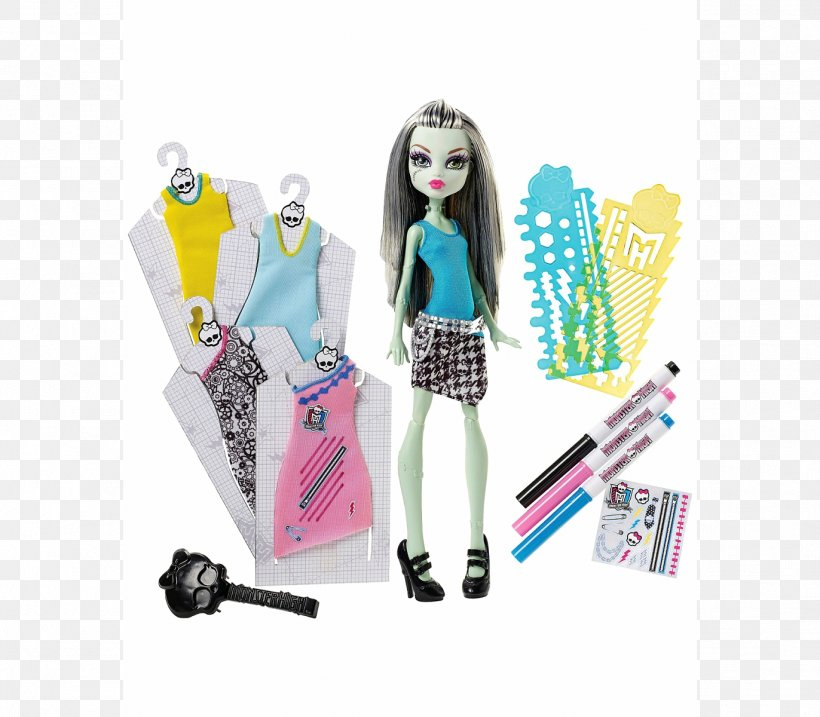 Frankie Stein Monster High Doll Fashion Designer Png 1372x1200px Frankie Stein Barbie Clothing Clothing Accessories Designer