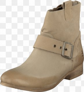 England Tidal Shoes - Boot Shoe Beige Leather Clothing PNG