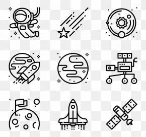 Astronomer - Drawing Icon Design PNG