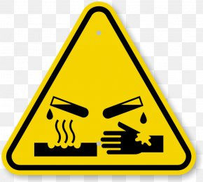 Caution Triangle Symbol - Hazard Symbol Dangerous Goods Warning Sign PNG