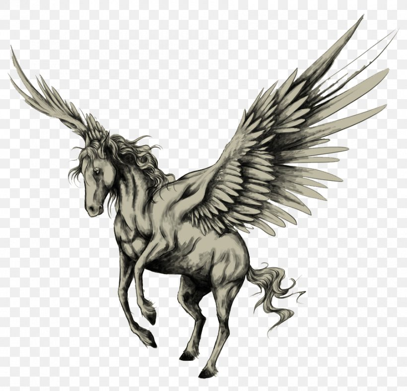 Tattoo Pegasus Drawing Horse Sketch Png 900x867px Horse Ambigram Arm Body Art Drawing Download Free