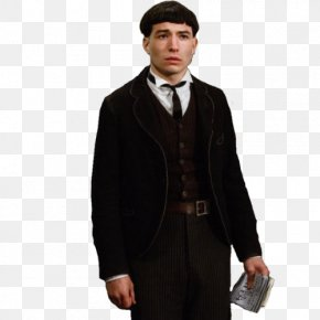 Harry Potter - Ezra Miller Fantastic Beasts And Where To Find Them Credence Barebone Jacob Kowalski Newt Scamander PNG