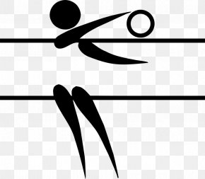 Volleyball Players - Summer Olympic Games Volleyball Pictogram Olympic Sports PNG