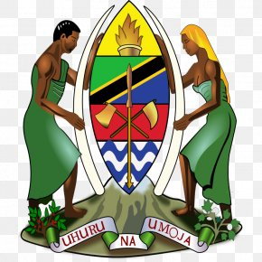 Tanzanya - Coat Of Arms Of Tanzania Flag Of Tanzania Dar Es Salaam National Emblem PNG