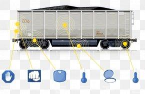 Coal Rollers - Train Rail Transport Railroad Car Clip Art PNG