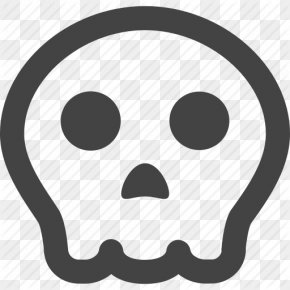 Pumpkin, Skull, Warning Icon - Smiley Linux PNG