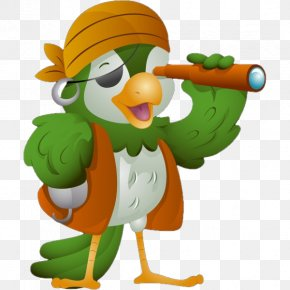 Parrot - Pirate Parrot Royalty-free Piracy PNG