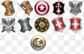 Continental 3d Shield - Shield Sword Icon PNG