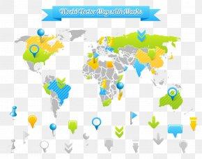 World Map Landmarks - Ukraine United States World Globe Ukrainian Passport PNG