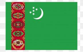 China - Flag Of Turkmenistan Turkmen Soviet Socialist Republic Flagpole PNG