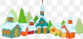 Norway Snow Famous Buildings - Clip Art Illustration Image Snow PNG