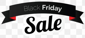 Black Friday Sale Banner Clipart Picture - Black Friday Banner Clip Art PNG