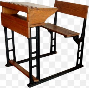 Wood,Seat - Table Desk School Supplies Classroom PNG