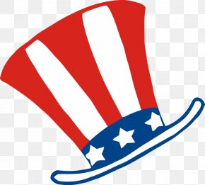 Independence Day - Uncle Sam Independence Day Hat Clip Art PNG