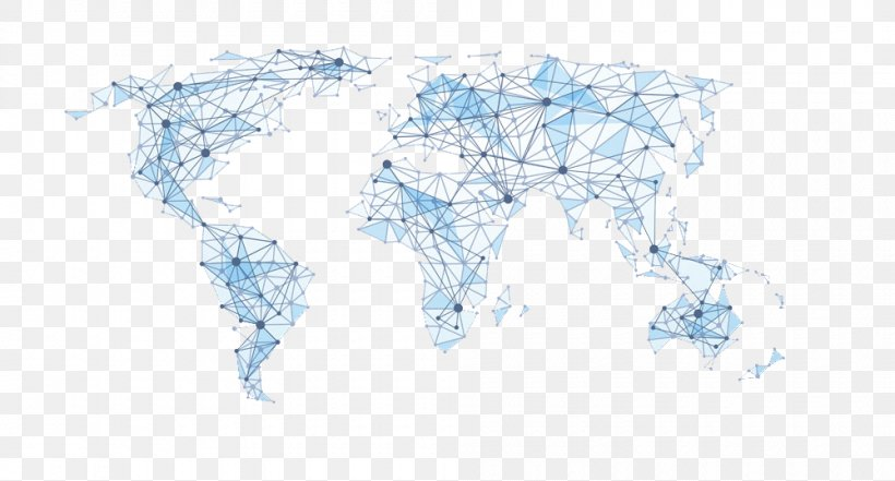 World Map Polygon Illustration, PNG, 1000x539px, World Map ...