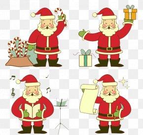 Santa Claus - Santa Claus Christmas Ornament Clip Art PNG