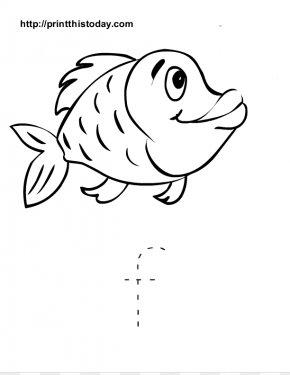Fishimage - Pre-school Kindergarten Alphabet Drawing Worksheet PNG
