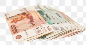 Money - Russian Ruble Banknote Money Payment PNG