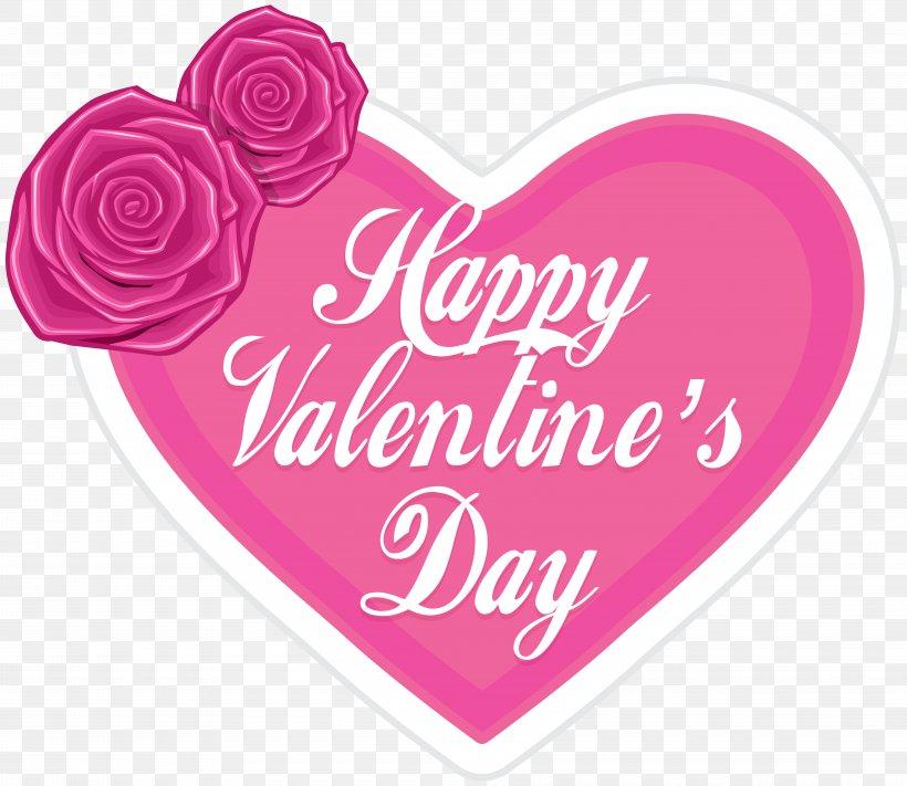 Valentine's Day Heart Clip Art, PNG, 8000x6941px, Valentine S Day, Flower, Heart, Love, Magenta Download Free