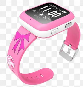 Pink Cushions Watches - Smartwatch Wearable Computer Child Wearable Technology PNG
