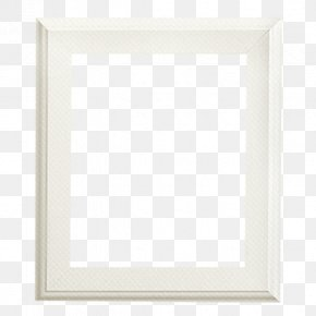 White Frame Material - Square Area Angle Pattern PNG