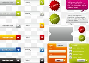 Vector Search Box - Web Design Search Box PNG