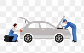 Car Repair Shop Workers - Car Daihatsu Automobile Repair Shop Auto Mechanic PNG