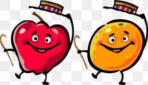 Fruits - Fruit Dance Cartoon PNG