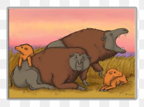 Mighty Bison - Daeodon ARK: Survival Evolved Mammal Even-toed Ungulates Carnivora PNG