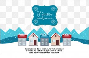 Winter Town - Winter Snow PNG